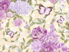 Scrapbook Butterflies Floral Papers by Five5Cats