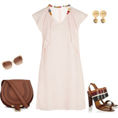 Summer Fun with Chloé by jpschwartz on Polyvore featuring Chloé