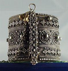 Antique Silver Bracelet - Yemen
