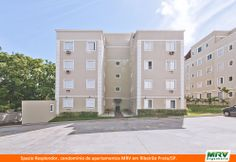 Paisagismo do Spazio Resplendor. Condomínio fechado de apartamentos localizado em Ribeirão Preto / SP.