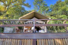 Location d'une tente de luxe à Goudargues avec piscine