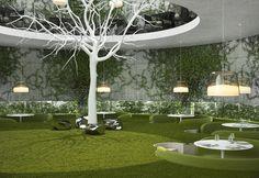 Tea Garden Restaurant - Design of restaurants, cafes from the Sergey Makhno – mahno.com.ua