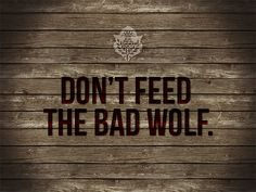 Stop feeding into negative people in your life :)