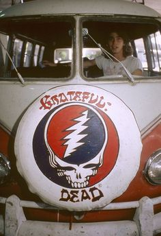 Grateful Dead volkswagon bus