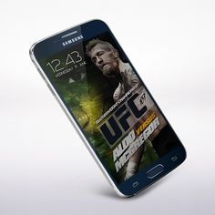mobile wallpaper mock-up w/ Conor McGregor : if you love #MMA, you'll love the #UFC & #MixedMartialArts inspired fashion at CageCult: http://cagecult.com/mma