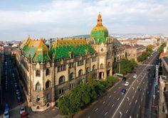 Art Nouveau:  Museum of Applied Arts, Budapest, Hungary, designed by Ödön Lechner and Gyula Pártos, 1893-1896