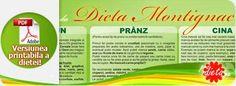 dieta Montignac - versiune printabila