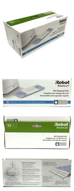 Wet Mopping Pads, Boxes iRobot Braava Jet 10 Damp Sweeping Pads NIB 10 2