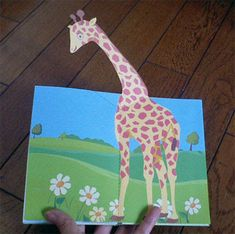 Libros Pop-Up Books Cards: Cómo Hacer un Divertido Libro Pop-Up de Animales!
