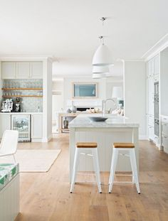 Timeless Interior Design       With a pastel palette and natural materials,   t his light-fi...
