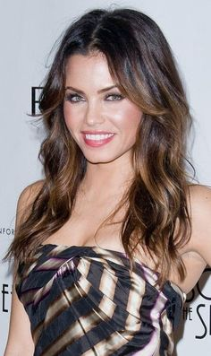 brunette ombre on the gorgeous Jenna Dewan tatum