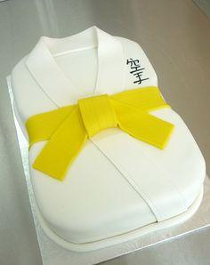 Karate Gi Birthday Cake by Coco Cake Co., via Flickr