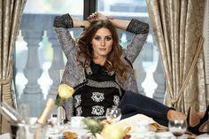 Olivia Palermo posa para a revista Lifestyle Magazine Brasil (Foto: Johannes Huebl/Divulgação)