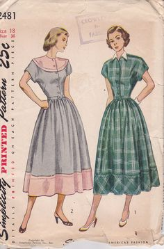 Vintage dress patterns 1940s hairstyles