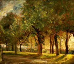 Giclee Print: Judge's Walk, Hampstead Wall Art by John Constable by John Constable : William Turner, John Constable Paintings, English Romantic, English Artists, Cool Posters, Famous Artists, Beautiful Paintings, Landscape Paintings, Giclee Print