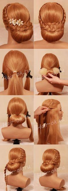 Napravi sama - prekrasna svečana frizura - Frizure.hr