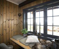 Inspirasjon hytte- beis og malte flater | Vakre Hjem Blogg