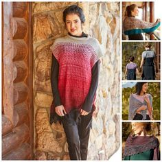 10 Patterns Perfect for Warm-Weather Knitting Summer Knitting, Free Knitting, Shawl Patterns, Knitting Patterns, Learn How To Knit, How To Wear, Shawl Cardigan, Knitting Accessories, Knitted Shawls