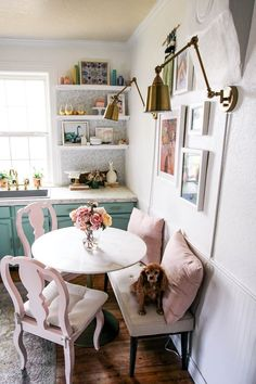 If you are looking for Small Dining Room Table Ideas, You come to the right place. Below are the Small Dining Room Table Ideas. This post about Small Dining . Dining Table Small Space, Tiny Dining Rooms, Small Kitchen Tables, Small Tables, Dining Room Design, Small Rooms, Small Dining Table Apartment, Small Table Ideas, Small Space Kitchen