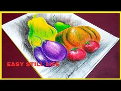 Drawing Videos For Kids, Beginner Art, Coloring Book Art, Artist Painting, Easy Drawings, Still Life, The Creator