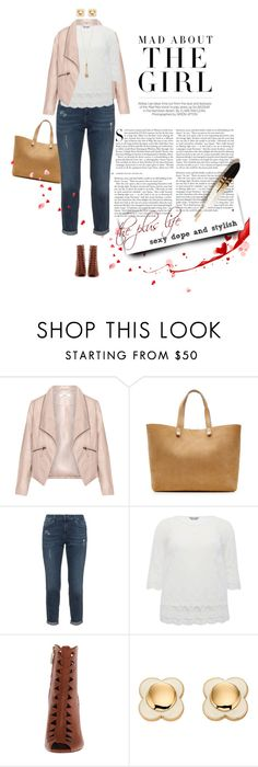 """Untitled #1297"" by dawn-scott ❤ liked on Polyvore featuring Kershaw, Zizzi, Victoria Beckham, M&Co, Orla Kiely and Miriam Haskell"