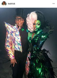 Todrick Hall and Rupaul for the new Low video