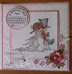 Stories of a mischievous Doberman and some crafty creations : LOTV wedding card and a very mischievous Maggie Wedding Day Cards, Wedding Shower Cards, Wedding Anniversary Cards, Diy Wedding Video, Wedding Ideas, Trendy Wedding, Romantic Cards, Handmade Card Making, Purple Wedding Invitations