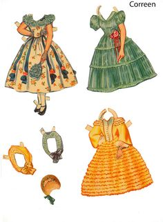 GWTW* The International Paper Doll Society by Arielle Gabriel for all paper doll and paper toy lovers. Mattel, DIsney, Betsy McCall, etc. Join me at #ArtrA, #QuanYin5 Linked In QuanYin5 YouTube QuanYin5!