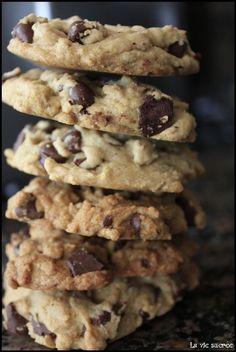 Les vrais cookies américain - La vie sucrée d'Eowyn