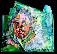 "Loft Gallery Artist Duarte Brown paints vivid, compelling portraits. ""Pass the Brush,"" now through October 31; Artist's Reception October 10, 6-8 pm."