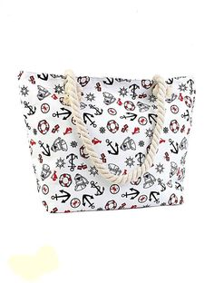X X Strap: Perfect for school, work, or the beach. Beach Tote Bags, Canvas Tote Bags, Wraps, Summer Essentials, Cover, Purses And Bags, Nautical, Canvas Prints, Zip