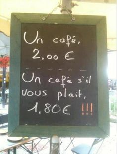 Manners matter in Cafés Charles, France. Guter Rat, Say Please, Magic Words, Teaching French, French Teacher, Plait, Manners, Make Me Smile, Decir No