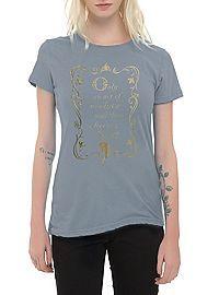 HOTTOPIC.COM - Disney Frozen Freezing Heart Quote Girls T-Shirt
