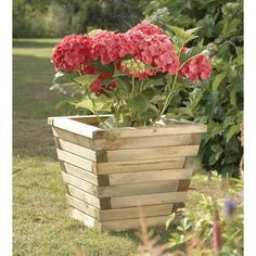 Wooden Planter... Ludlow