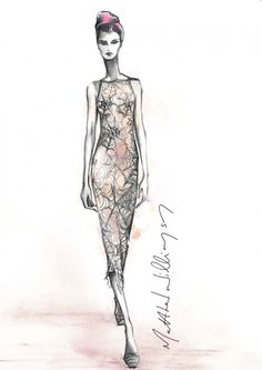 For the 15th Anniversary Limited Edition collection, Matthew Williamson sought inspiration from the Cobweb dress that he designed for his debut fashion show