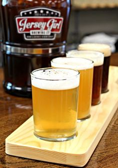 Our trip to a local brewing company, you have to check out what our favorite beer was! Beer Brewing Kits, Brewing Company, Home Brewing, Make Beer At Home, Bar Refrigerator, Local Brewery, Brewing Equipment, Beer Taps, Jersey Girl