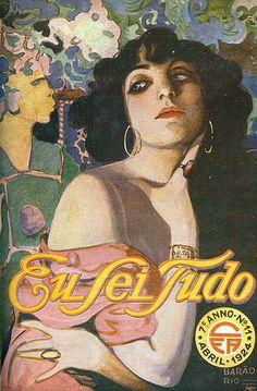 Barão Puttkamer, Eu Sei Tudo, No. 11, April 1924 by Gatochy,