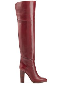 Love this by CHLOÉ Over-The-Knee Leather Boots - $1475