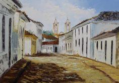 Casa das Artes: Passo a passo de pintura óleo sobre tela com Diana Aguiar.