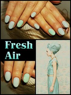 #fresh #air #mint #light #blue #nailtutorial #happyhands #didierlab #no44 #no53 #no4 #no2