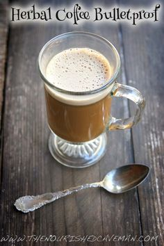 A super healthy version of the classic bulletproof coffee made with health boosting ingredients. The results are especially delicious! By The Nourished Caveman