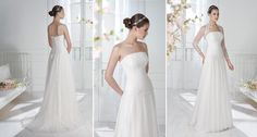Bridal gowns created from separate, luxurious fabrics and laces are what each woman will find at Wedding Gallery. Bridal Gowns, Wedding Dresses, Wedding Gallery, Jacket, Collection, Women, Fashion, Bride Dresses, Bride Dresses