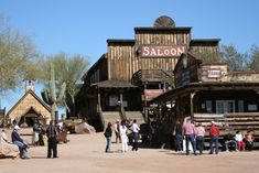 Gunfights every hour Sat. & Sun. | High Noon - 4pm   Underground guided mine tours.     The only operating narrow gauge railroad in Arizona.     Jeep Tours of the Superstition Mountains.     Horseback Adventures, wagons, carriages.     Lodging and camping available at the Ghost Town