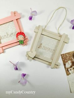 Festa della Mamma: portafoto fai-da-te con stecche del gelato