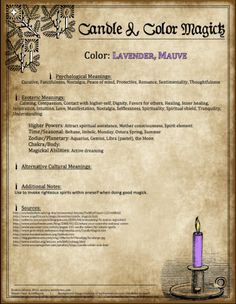 Candle & Color Magick