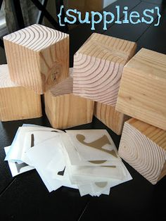 Blocks Craft Wood Blocks Craft DIY You can spell several words with just one set of 7 blocks!Wood Blocks Craft DIY You can spell several words with just one set of 7 blocks! Crafts To Make, Home Crafts, Fun Crafts, Wood Projects, Woodworking Projects, Craft Projects, Craft Ideas, Woodworking Basics, Woodworking Logo