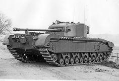 Black Prince tank 1944.