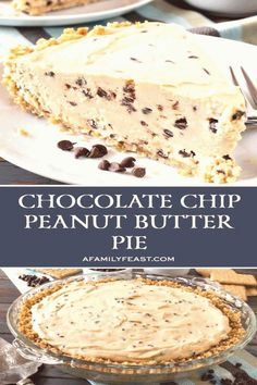 #Pie #recipes #chocolate #good Our Chocolate Chip Peanut Butter Pie has a rich and creamy peanut butter filling with mini chocolate chips throughout So goodbrp classfirstletterwelcome to the website with the maximum content about goodpHere we offer you the maximum sublimely impression about the filling you are looking for When you examine the throughout part of the photograph you can get the massage we want to deliver Yo can see that this Picture is ann acclaimed one and the quality by… Peanut Butter Filling, Butter Pie, Creamy Peanut Butter, Peanut Butter Cups, Easy Chocolate Desserts, Mini Chocolate Chips, Chocolate Chocolate, Chocolate Filling, Pie Recipes