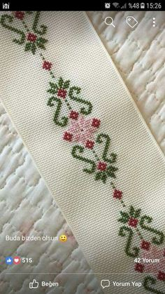 Thrilling Designing Your Own Cross Stitch Embroidery Patterns Ideas. Exhilarating Designing Your Own Cross Stitch Embroidery Patterns Ideas. Cross Stitch Bookmarks, Beaded Cross Stitch, Cross Stitch Borders, Cross Stitch Flowers, Cross Stitch Designs, Cross Stitching, Cross Stitch Embroidery, Cross Stitch Patterns, Basic Embroidery Stitches