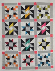 Sew in Love {with Fabric}: Everyone's a Star Quilt Along: Week 5